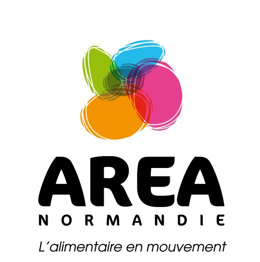 Logo Area Normandie - l\'alimentaire en mouvement
