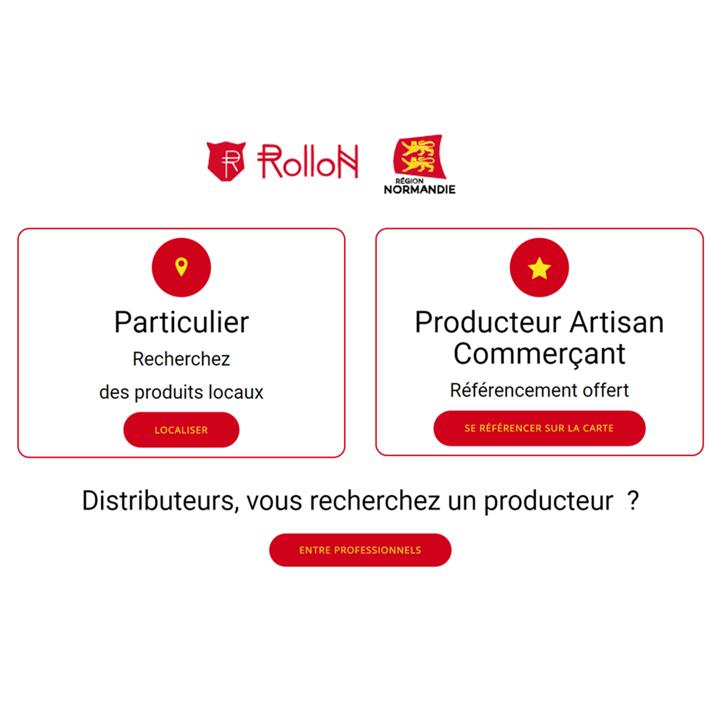 Géolocalisation des produits locaux en Normandie : une plateforme de mise en relation directe