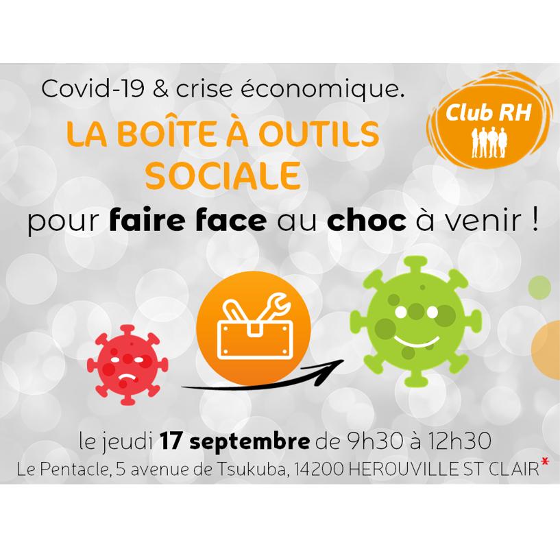 Club RH «Boîte à outils sociale pour faire face à la crise» le 17 septembre à 9h30