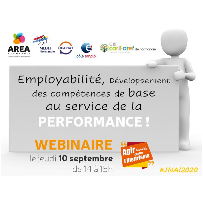 WEBINAIRE Compétences de base & Performance le 10 septembre à 14h