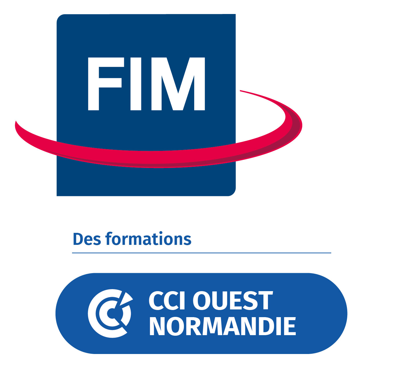 Logo FIM CCI Formation Ouest Normandie