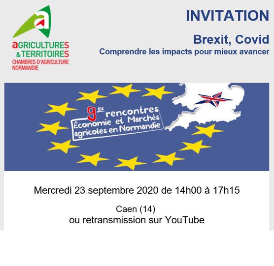 9èmes rencontres «Economie & Marchés» le 23 septembre à Caen (et en direct sur YouTube)