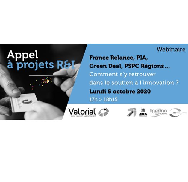 Webinaire «France Relance, Résilience, PSPC-Régions… Comment s'y retrouver ?» le 5 octobre