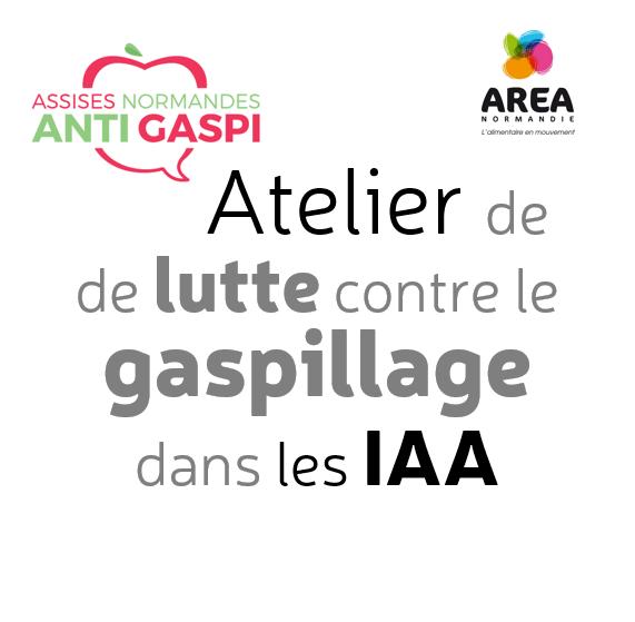 Atelier de lutte contre le gaspillage dans les IAA le 12 novembre