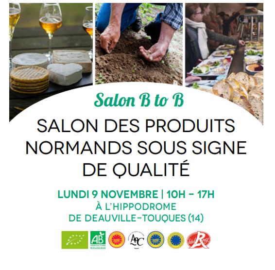 Salon BTB des produits Normands sous signe officiel de qualité