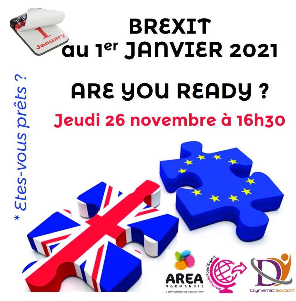 Club Normandy Food'Export spécial BREXIT le 26 novembre