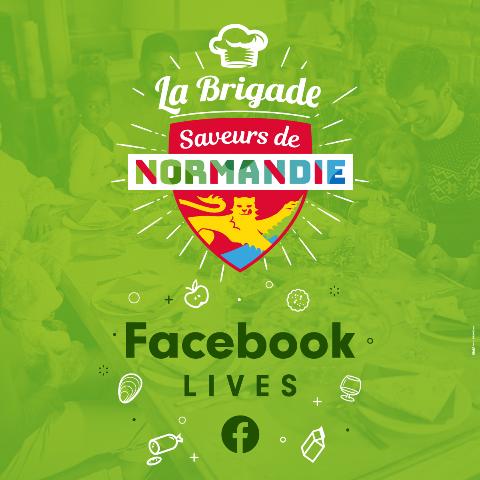 Rejoignez la Brigade Saveurs de Normandie en direct depuis votre cuisine !