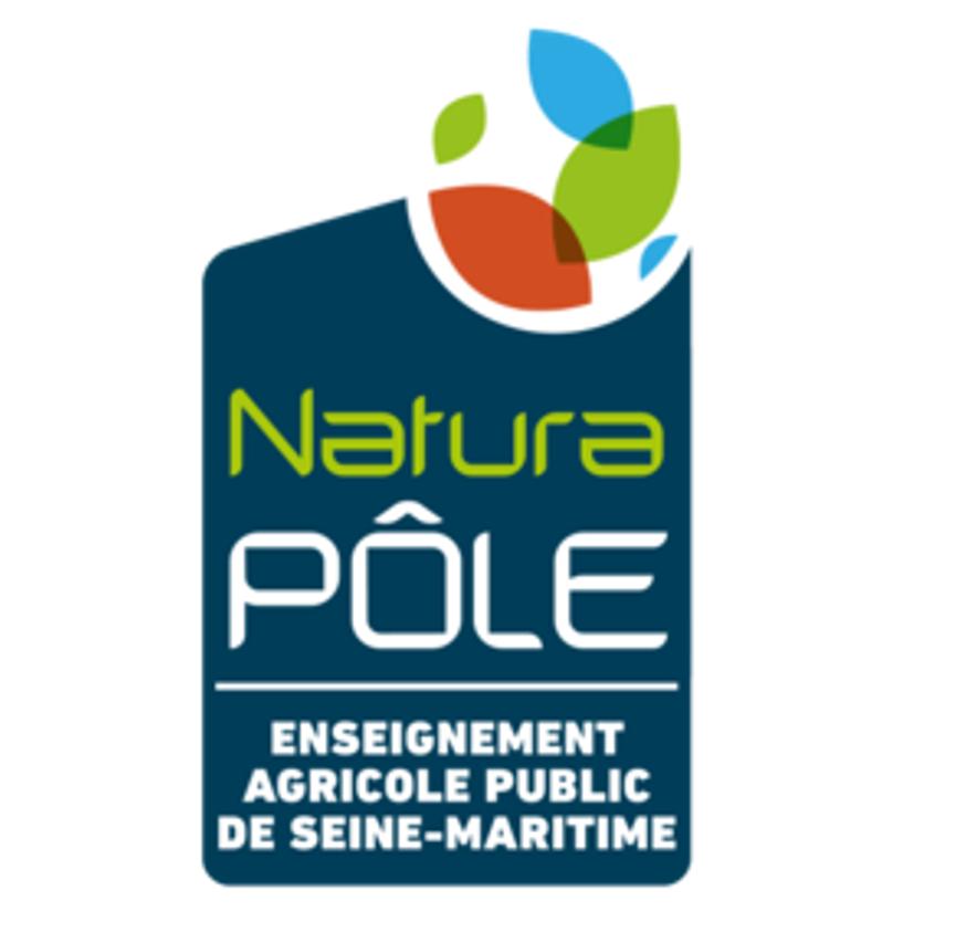 Logo NaturaPÔLE, campus Yvetot