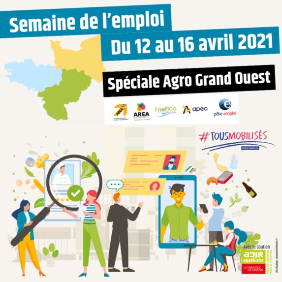 Semaine de l'emploi dans l'agroalimentaire du 12 au 16 avril