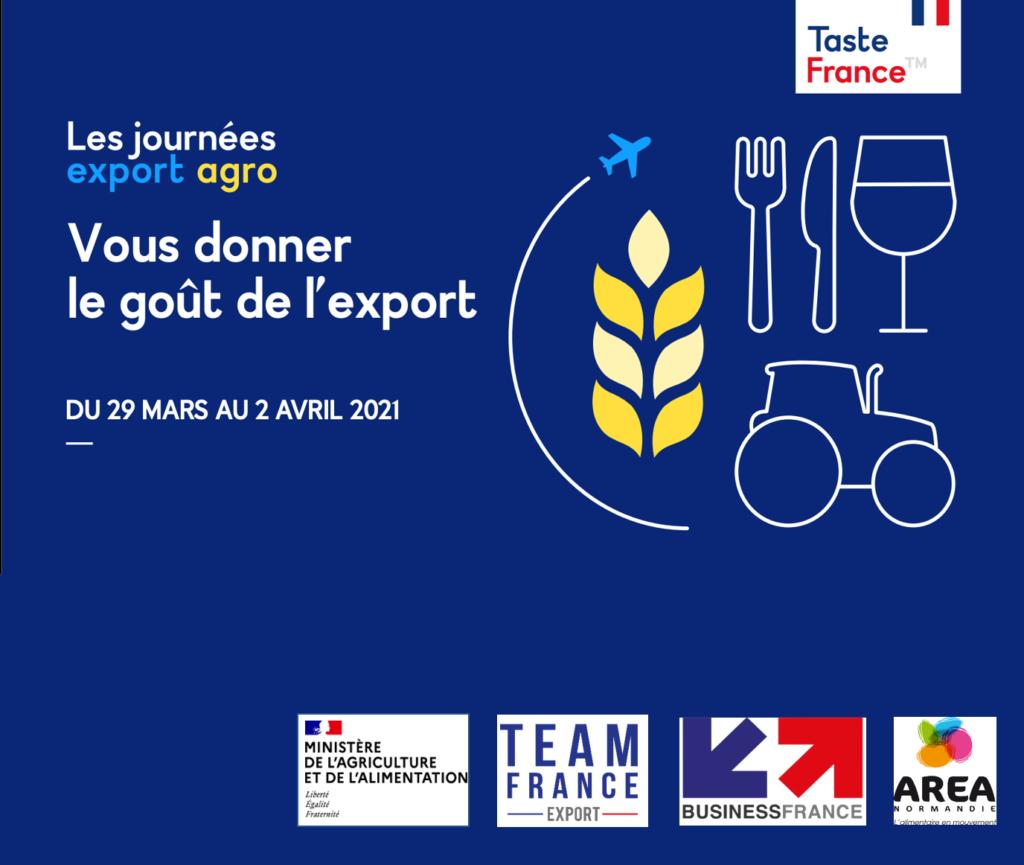JOURNEES EXPORT AGRO DU MINISTERE DE L'AGRICULTURE ET DE L'ALIMENTATION – Visionnez les replays !