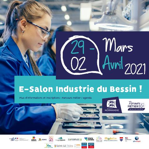 E-salon Industrie du Bessin du 29 mars au 2 avril