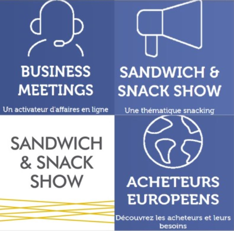 Business Meetings «Snacking & sandwichs» – EUROPE – Avril