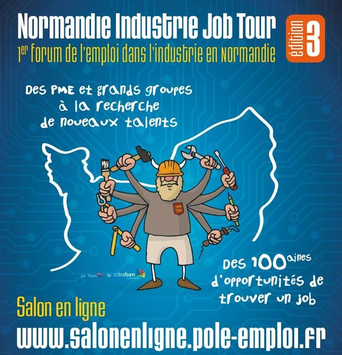 normandie industrie job tour 2021