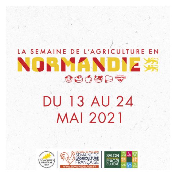 Semaine de l'Agriculture Normande du 13 au 24 mai
