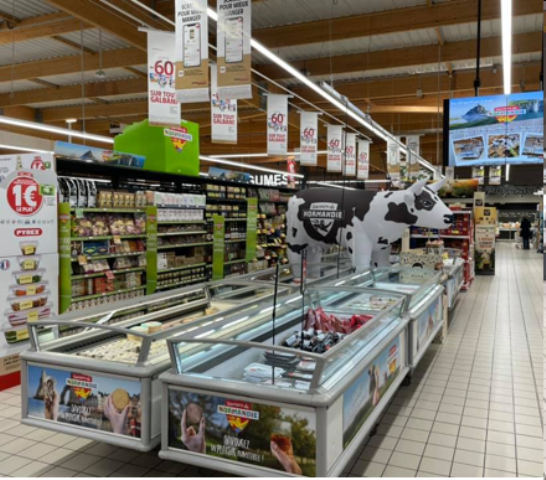 CAMPAGNE PRINTANIERE D'OPERATIONS SAVEURS DE NORMANDIE : LE DIGITAL, NOUVEL ATOUT DE LA PERFORMANCE EN MAGASINS