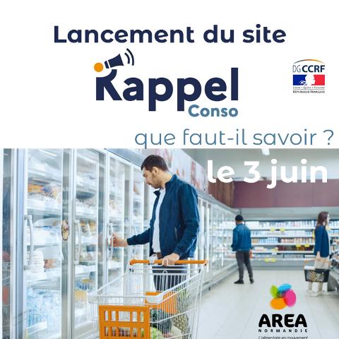 WEBINAIRE «Lancement du site RappelConso» le 3 juin