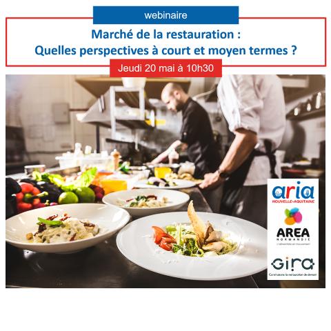 Webinaire «Les évolutions du marché de la restauration» le 20 mai