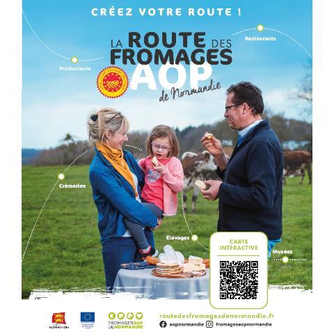 Créez votre Route des Fromages AOP de Normandie !