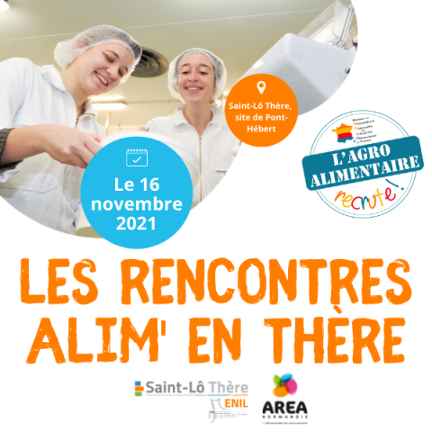 Venez aux Rencontres ALIM' EN THERE le 16 novembre !