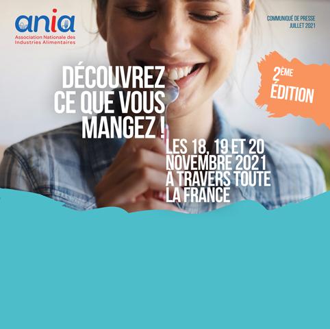 Découvrez ce que vous mangez ! les 18, 19 et 20 novembre dans toute la France
