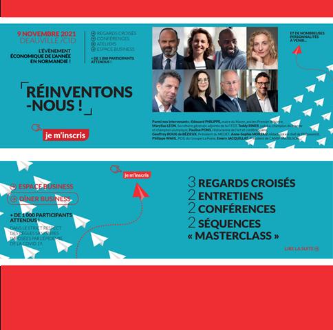 Université des Entrepreneurs Normands le 9 novembre : réinventons-nous !