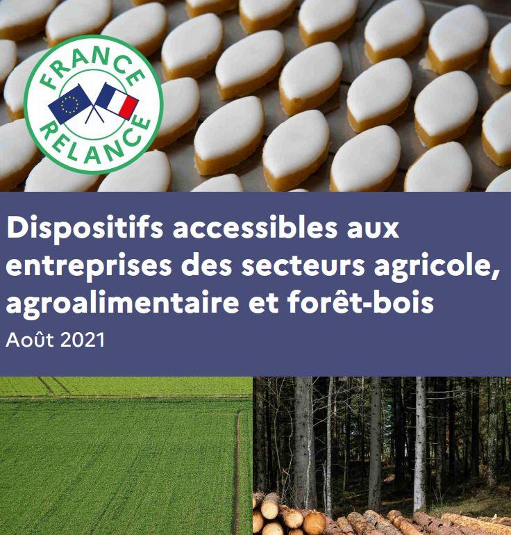 Actualisation du recueil des dispositifs accessibles aux entreprises agroalimentaires