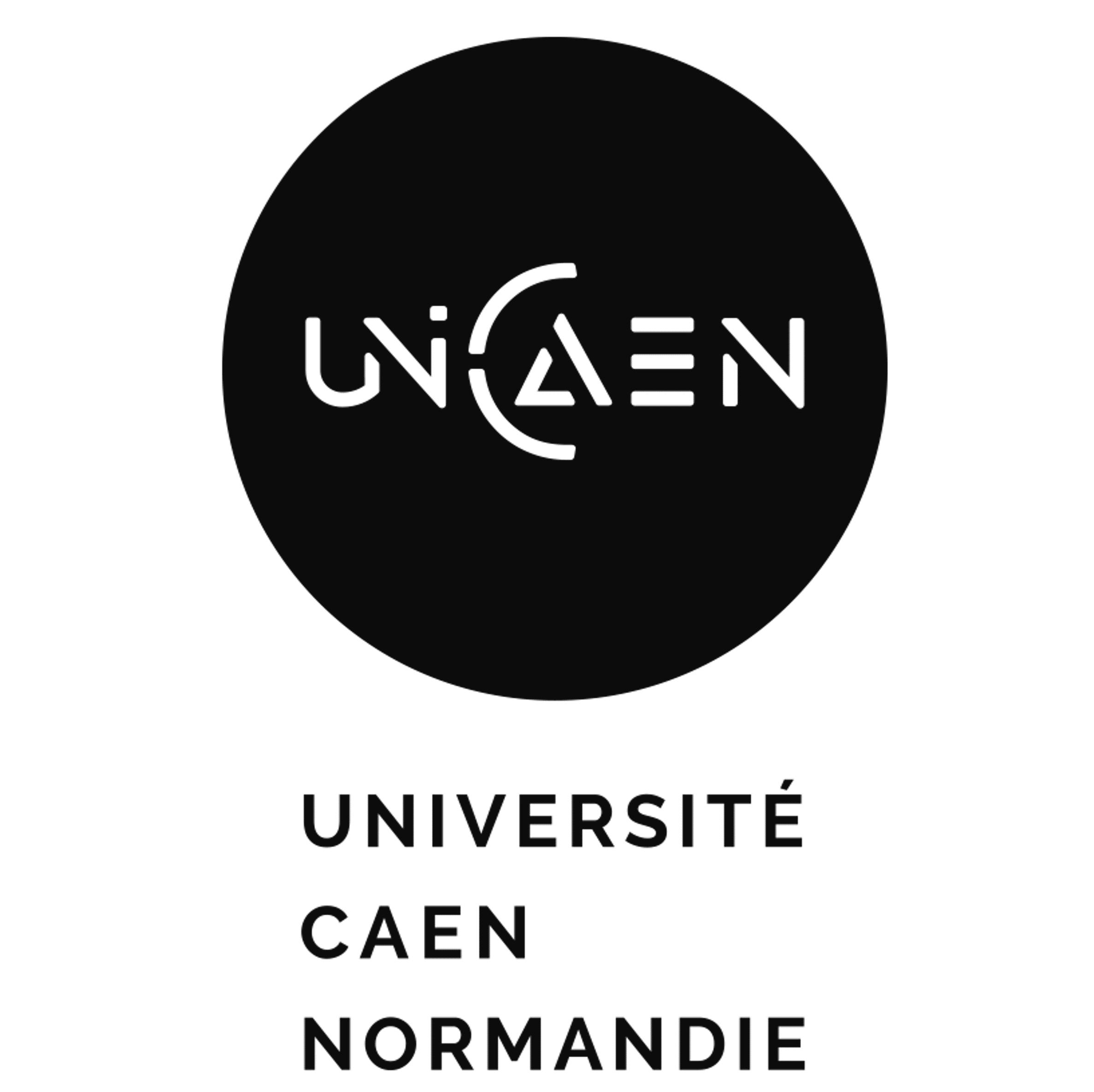 Logo UNIVERSITE DE CAEN NORMANDIE - UNICAEN