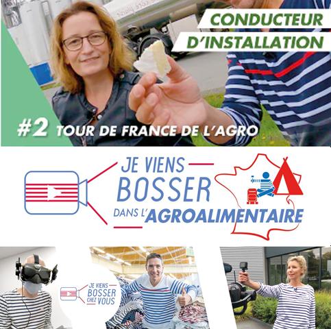 Je viens bosser dans l'agroalimentaire : étape du tour de France à la Société Fromagère de Domfront !