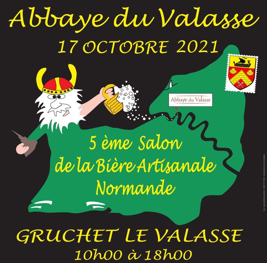 SALON DE LA BIERE ARTISANALE NORMANDE le 17 octobre