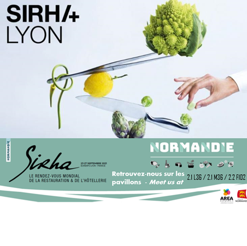La filière agroalimentaire normande, résiliente et conquérante au SIRHA 2021 !
